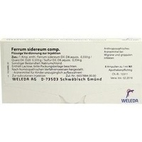 FERRUM SIDEREUM COMP, 8X1 ML, Weleda AG