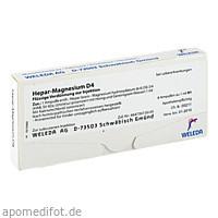 HEPAR MAGN D 4, 8 ST, Weleda AG