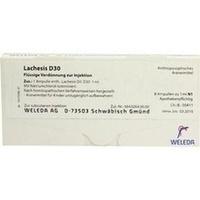 LACHESIS D30, 8X1 ML, Weleda AG