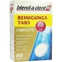 blend-a-dent Reinigungs-Tabs Complete, 60 ST, Wick Pharma / Procter & Gamble GmbH
