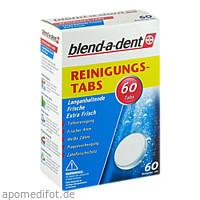 blend-a-dent Reinigungs-Tabs Langanhaltende Frisch, 60 ST, Procter & Gamble GmbH
