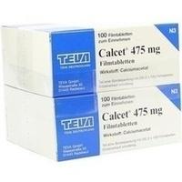Calcet 475mg Filmtabletten, 200 ST, TEVA GmbH