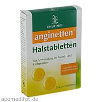 anginetten Halstabletten, 24 ST, MCM KLOSTERFRAU Vertr. GmbH