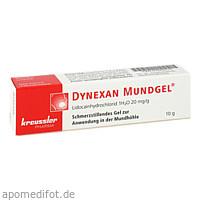 Dynexan Mundgel, 10 G, Chem. Fabrik Kreussler & Co. GmbH