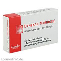 Dynexan Mundgel Zylinderampullen, 4X1.7 G, Chem. Fabrik Kreussler & Co. GmbH