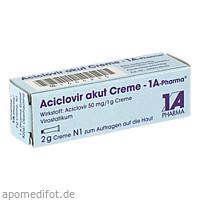 Aciclovir akut Creme - 1A-Pharma, 2 G, 1 A Pharma GmbH