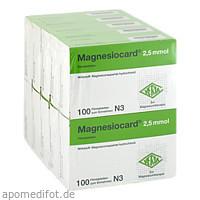 Magnesiocard 2.5mmol, 10X100 ST, Verla-Pharm Arzneimittel GmbH & Co. KG
