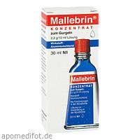 Mallebrin Konzentrat zum Gurgeln, 30 ML, Hermes Arzneimittel GmbH