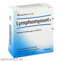 Lymphomyosot N, 10 ST, Biologische Heilmittel Heel GmbH
