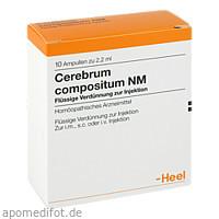 Cerebrum compositum NM, 10 ST, Biologische Heilmittel Heel GmbH