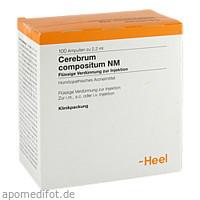 Cerebrum compositum NM, 100 ST, Biologische Heilmittel Heel GmbH