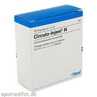 Circulo-Injeel N, 10 ST, Biologische Heilmittel Heel GmbH