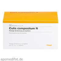 Cutis compositum N, 50 ST, Biologische Heilmittel Heel GmbH
