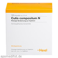 Cutis compositum N, 100 ST, Biologische Heilmittel Heel GmbH