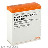 Testis compositum N Ampullen, 10 ST, Biologische Heilmittel Heel GmbH