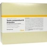 Testis compositum N Ampullen, 100 ST, Biologische Heilmittel Heel GmbH