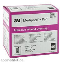 Medipore plus Pad steriler Wundverband 3564E, 50 ST, 3M Medica Zwnl.d.3M Deutschl. GmbH