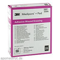 Medipore plus Pad steriler Wundverband 3566E, 25 ST, 3M Medica Zwnl.d.3M Deutschl. GmbH