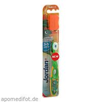 Jordan Kinderzahnbürste Step 2 3-5Jahre, 1 ST, Megadent Deflogrip Gerhard Reeg GmbH