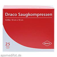 Saugkompressen steril 10x10cm, 25 ST, Dr. Ausbüttel & Co. GmbH
