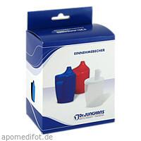 Einnehmebecher m.Griff+2Deckel 4+12mm blau, 1 Stück, Dr. Junghans Medical GmbH