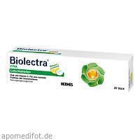 Biolectra ZINK Lutschtabletten, 20 ST, Hermes Arzneimittel GmbH
