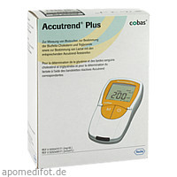 Accutrend Plus mg/dl, 1 ST, Roche Diagnostics Deutschland GmbH