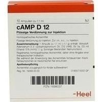 CAMP D12, 10 ST, Biologische Heilmittel Heel GmbH