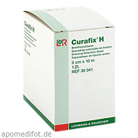 Curafix H Fixierpflaster 5cmx10m, 1 ST, Junek Europ-Vertrieb GmbH