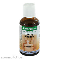 Sauna-Aufguss Sunny Orange, 50 ML, Bergland-Pharma GmbH & Co. KG