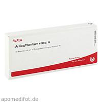 ARNICA/PLUMBUM COMP A, 10X1 ML, Wala Heilmittel GmbH