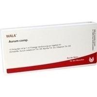 AURUM COMP, 10X1 ML, Wala Heilmittel GmbH