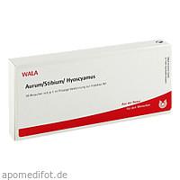 AURUM/STIBIUM/HYOSCYAMUS, 10X1 ML, Wala Heilmittel GmbH