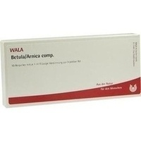 BETULA/ARNICA COMP, 10X1 ML, Wala Heilmittel GmbH