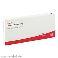 CUPRUM ACET COMP, 10X1 ML, Wala Heilmittel GmbH