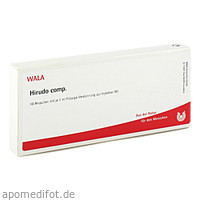 HIRUDO COMP, 10X1 ML, Wala Heilmittel GmbH