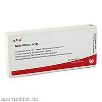 SALIX/RHUS COMP, 10X1 ML, Wala Heilmittel GmbH