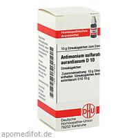 ANTIMONIUM SULF AURANT D10, 10 G, Dhu-Arzneimittel GmbH & Co. KG