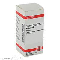 ARNICA D 6, 80 ST, Dhu-Arzneimittel GmbH & Co. KG