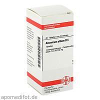ARSENICUM ALB D 6, 80 ST, Dhu-Arzneimittel GmbH & Co. KG