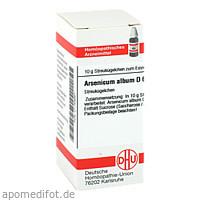 ARSENICUM ALB D 6, 10 G, Dhu-Arzneimittel GmbH & Co. KG