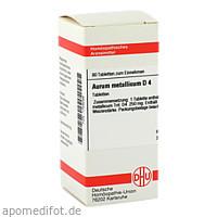AURUM MET D 4, 80 ST, Dhu-Arzneimittel GmbH & Co. KG