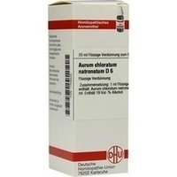 AURUM CHLORATUM NATRON D 6, 20 ML, Dhu-Arzneimittel GmbH & Co. KG