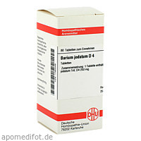 BARIUM JODAT D 4, 80 ST, Dhu-Arzneimittel GmbH & Co. KG