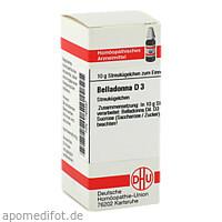 BELLADONNA D 3, 10 G, Dhu-Arzneimittel GmbH & Co. KG
