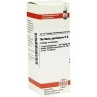 BERBERIS AQUIF D 6, 20 ML, Dhu-Arzneimittel GmbH & Co. KG