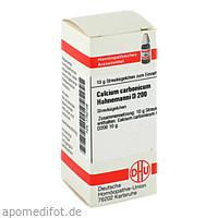 CALCIUM CARB HAHNEM D200, 10 G, Dhu-Arzneimittel GmbH & Co. KG
