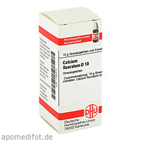 CALCIUM FLUORAT D10, 10 G, Dhu-Arzneimittel GmbH & Co. KG