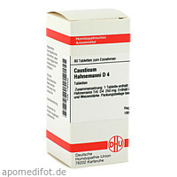 CAUSTICUM HAHNEM D 4, 80 ST, Dhu-Arzneimittel GmbH & Co. KG