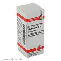 CHAMOMILLA D30, 10 G, Dhu-Arzneimittel GmbH & Co. KG